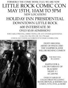 LR Comic Con Flyer